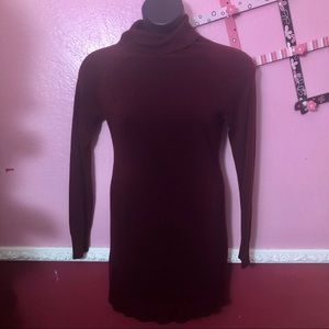 🌴4/$20🌴Forever 21 Maroon Sweater Dress Size L